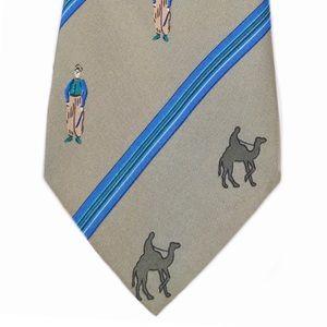 HERMÈS • Camel Jockey Classic Business Tie